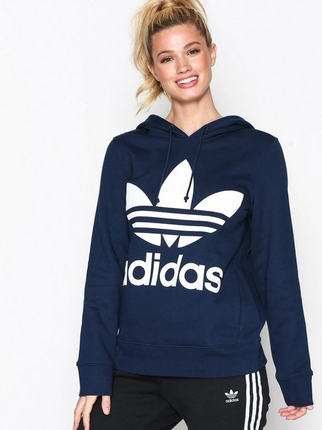 Billede af Adidas Originals Trefoil Hoodie Hoods Marine