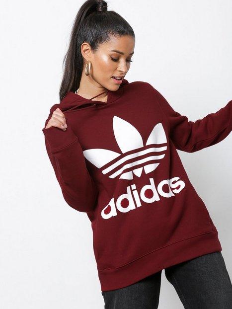 Billede af Adidas Originals Trefoil Hoodie Hoods Burgundy