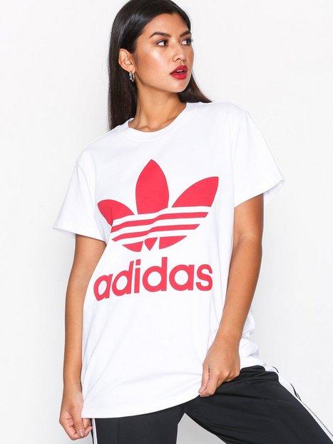 Billede af Adidas Originals Big Trefoil Tee Oversized Hvid