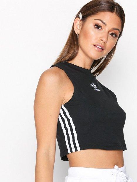 Billede af Adidas Originals Crop Tank Toppe Sort