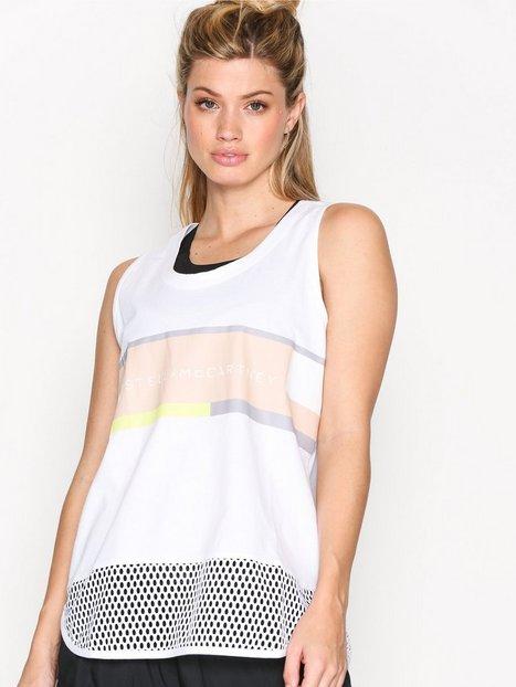 Billede af Adidas by Stella McCartney Ess Logo Tank Loose-fit Top Hvid
