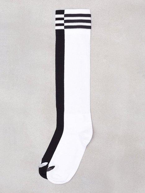 Billede af Adidas Originals Solid Knee SO 2PP Lange strømper Sort / Hvid