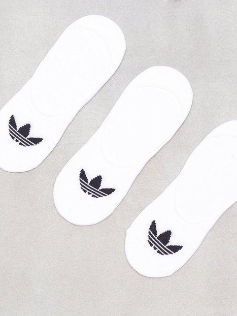 Billede af Adidas Originals No Show Sock 3P Ankelsokker Hvid/Sort