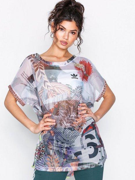 Billede af Adidas Originals Boxy Tee T-shirt Multicolor