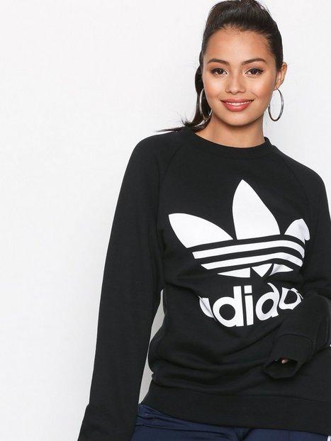 Billede af Adidas Originals Oversized Sweater Sweatshirts Sort