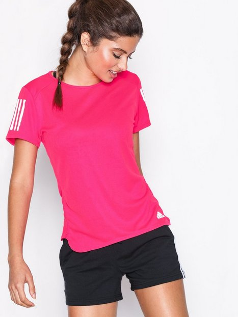Billede af Adidas Sport Performance Rs Ss Tee Top Kortærmet Rosa/Lyserød