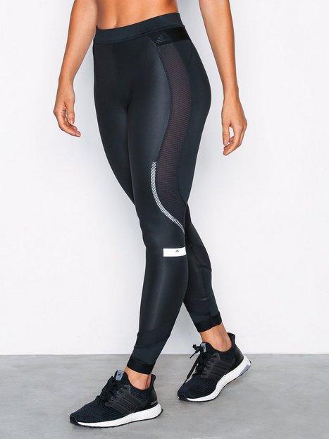 Billede af Adidas by Stella McCartney Run Long Tight Træningstights Sort