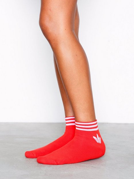 Billede af Adidas Originals Trefoil Ank Str Ankelsokker Sort