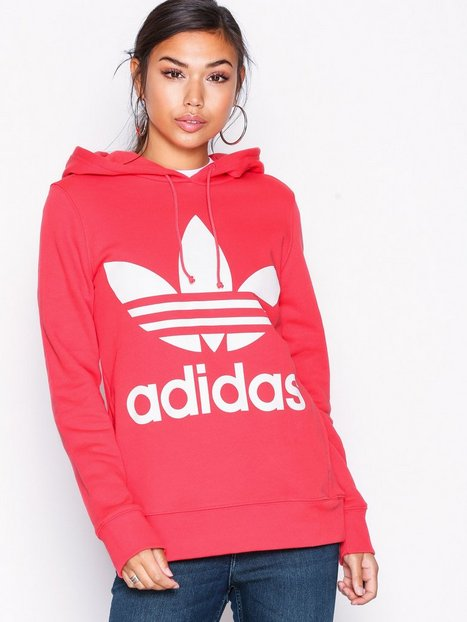 Billede af Adidas Originals Trefoil Hoodie Hættetrøjer Koral