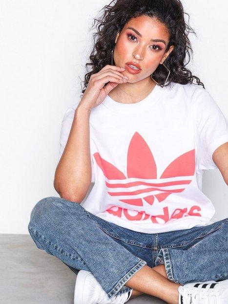 Billede af Adidas Originals Big Trefoil Tee T-shirt White