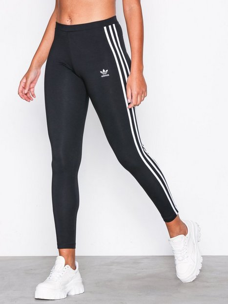 Billede af Adidas Originals 3 Str Tights Leggings Sort