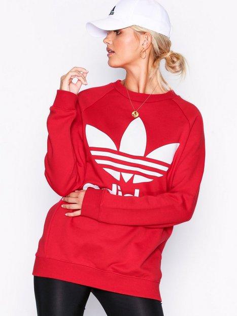 Billede af Adidas Originals Oversized Sweat Sweatshirts Rød