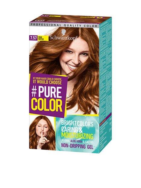 Schwarzkopf Pure Color Hårfärg 7.57 True Toffee