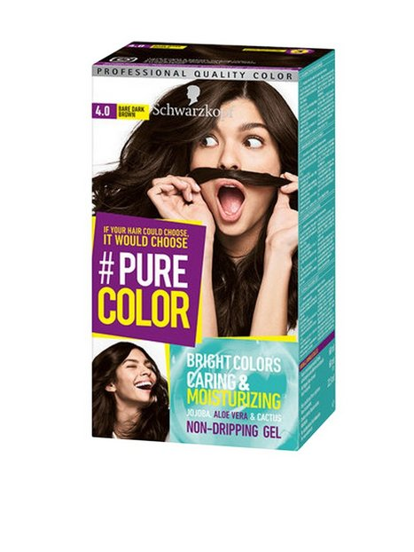 Schwarzkopf Pure Color Hårfärg 4.0 Bare Dark Brown