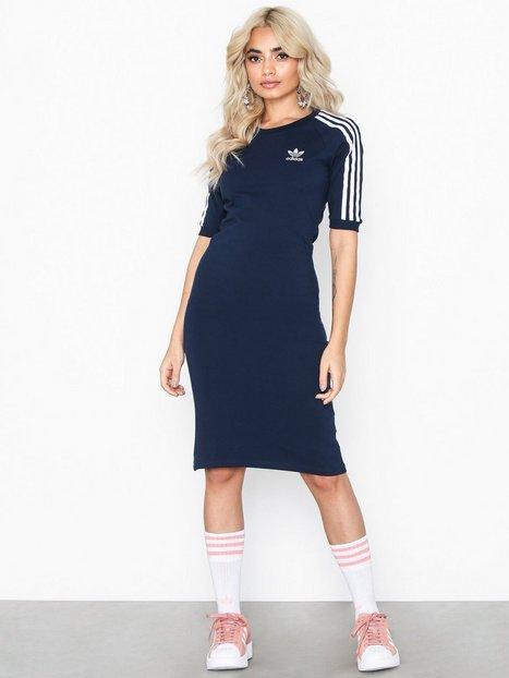 Billede af Adidas Originals 3 Stripes Dress Kropsnære kjoler Marine