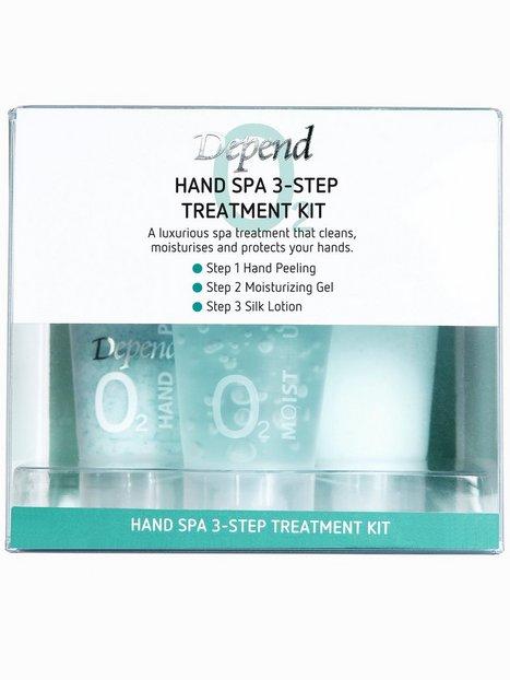 Billede af Depend Hand Spa 3-Step Treatment Kit Neglepleje Hvid