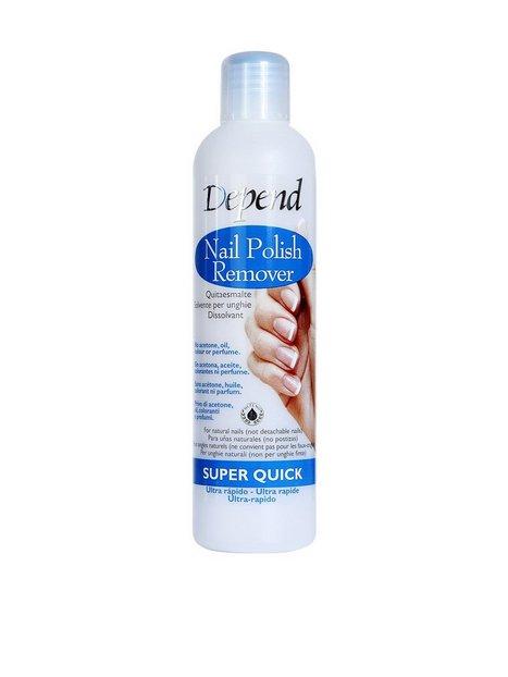 Billede af Depend Nail Polish Remover - Super Quick 250 ml Make up fjerner