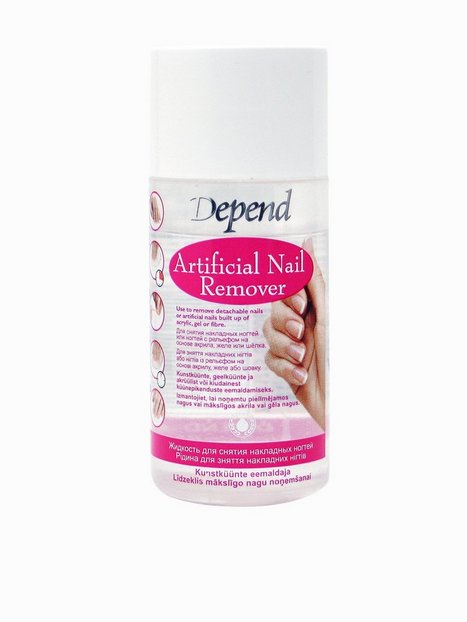 Billede af Depend Artificial Nail Remover 85 ml Make up fjerner Transparent