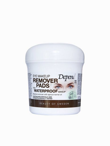 Billede af Depend Eye Make-Up Remover Pads Waterproof Makeup fjerner/Shine Control Transparent