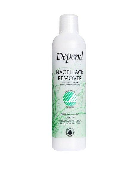 Billede af Depend Nail Polish Remover - Miljömärkt 250ml Make up fjerner Transparent