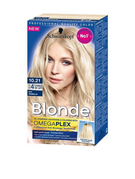 Schwarzkopf Poly Blonde Hårfärg 10.21 Icy Vanilla - Schwarzkopf