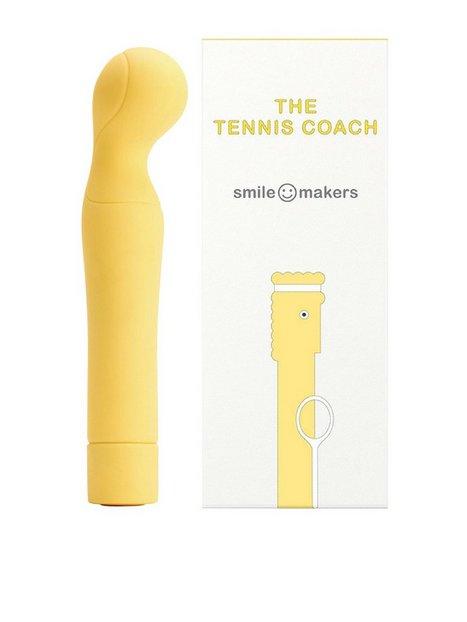 Billede af Smile Makers The Tennis Coach Vibrator Sexlegetøj Gul