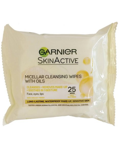 Garnier Micellar Cleansing Wipes With Oils Ansiktsrengöring
