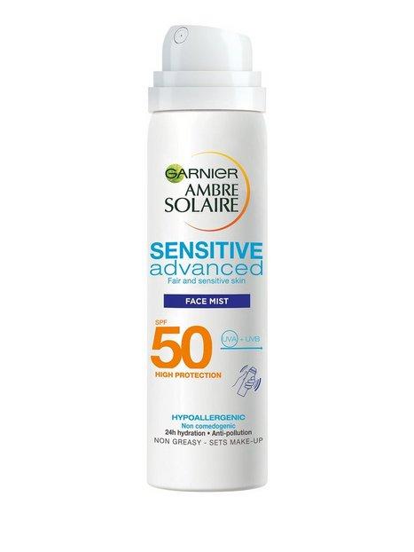 Billede af Garnier Sensitive Advance Face Protection Mist SPF50 Solfaktor Transparent