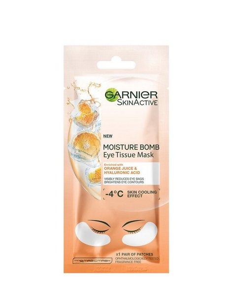 Billede af Garnier Eye Tissue Mask Ansigtsmasker Orange