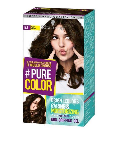 Schwarzkopf Pure Color Hårfärg 5.1 Ashy Brown - Schwarzkopf