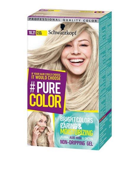Schwarzkopf Pure Color Hårfärg 10.21 Pearl Blonde - Schwarzkopf