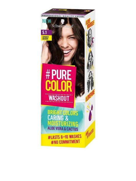 Schwarzkopf Pure Color Washout Hårtoning 5.1 Ashy Brown - Schwarzkopf