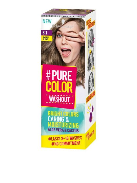 Schwarzkopf Pure Color Washout Hårtoning 8.1 Smokey Blond - Schwarzkopf
