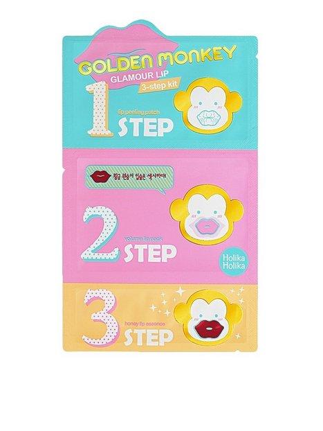 Billede af Holika Holika Golden Monkey Glamour Lip 3-Step Kit Læbepleje