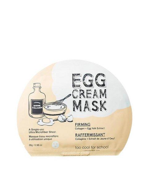 Billede af Too Cool For School Egg Cream Firming Mask Ansigtsmasker