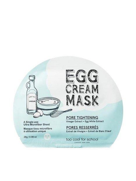 Billede af Too Cool For School Egg Cream Mask Pore Tightening Ansigtsmasker