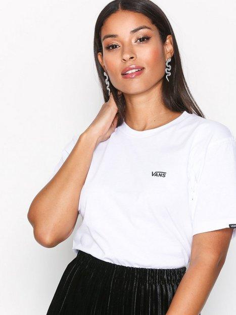 Billede af VANS Mn Left Chest Logo T T-shirt White