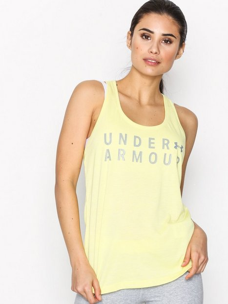 Billede af Under Armour Tborne Train Grph Twist Tank Loose-fit Top Lemon