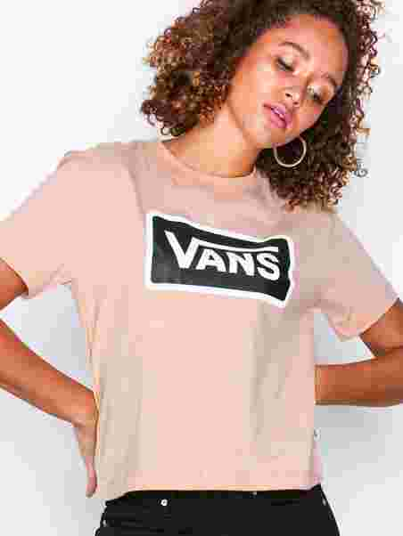 Wm Boom Boom Boxy - Vans - Pink - Tops - Clothing - Women - Nelly.com 361a7cd821c