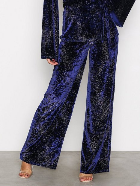 NLY Trend Formation Wide Pants Housut Sininen thumbnail