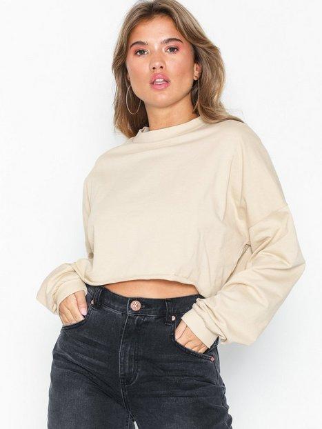 Billede af NLY Trend Over The Top Sweat Sweatshirts Beige