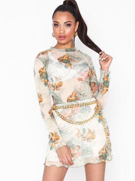 Billede af NLY Trend Angel Mesh Skirt Mini nederdele