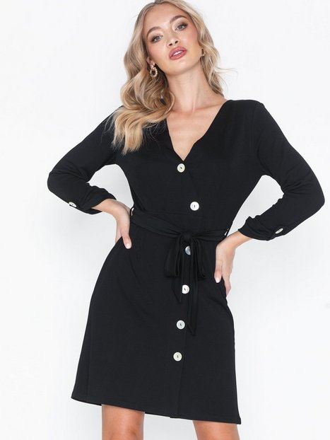 Billede af NLY Trend Button Up Wrap Dress Loose fit dresses
