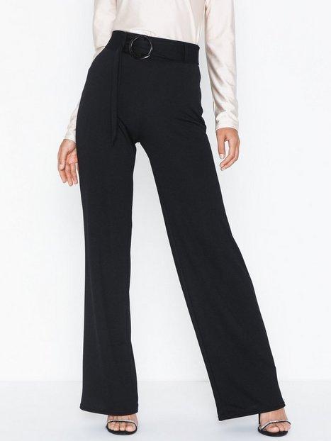 Billede af NLY Trend Belt Crepe Straight Pants Bukser