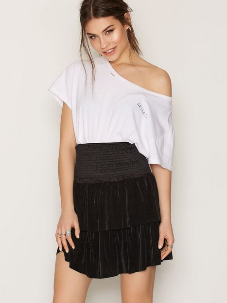 Sisters Point Goal Skirt Minikjolar Black thumbnail