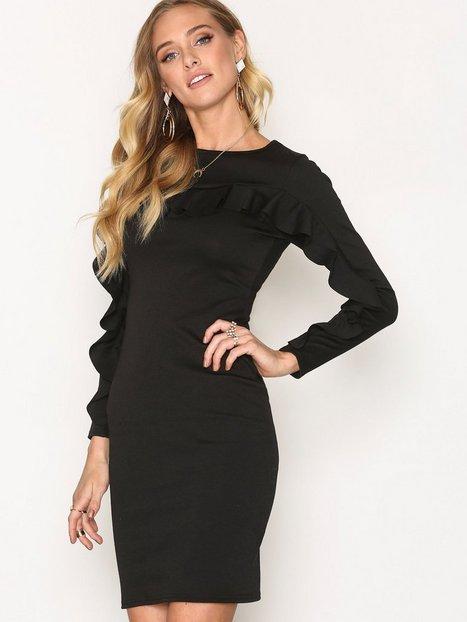 Billede af Sisters Point Clio Dress Langærmet kjole Black