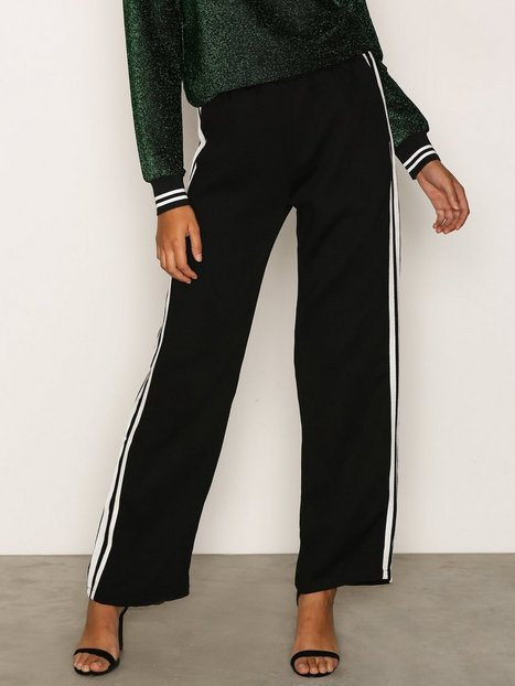 Sisters Point Gruso Pants Byxor Black/White thumbnail