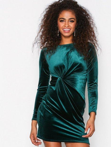 Billede af Sisters Point Cofa Cress Kropsnære kjoler Deep Green