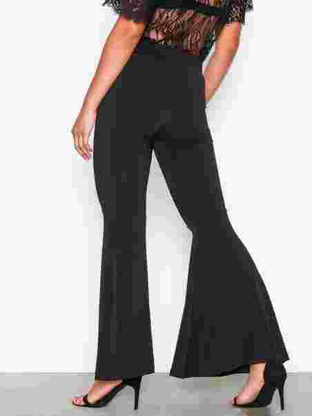 5a16d444 Gro - W Flare - Sisters Point - Black - Pants & Shorts - Clothing ...