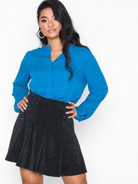 Billede af Sisters Point Con Skirt Mini nederdele Sølv/Sort